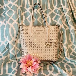 "🌸Michael Kors ""Haley"" Perforated Tote🌸"